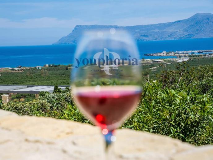 Good Wine & Superb Views - Youphoria Villas Crete