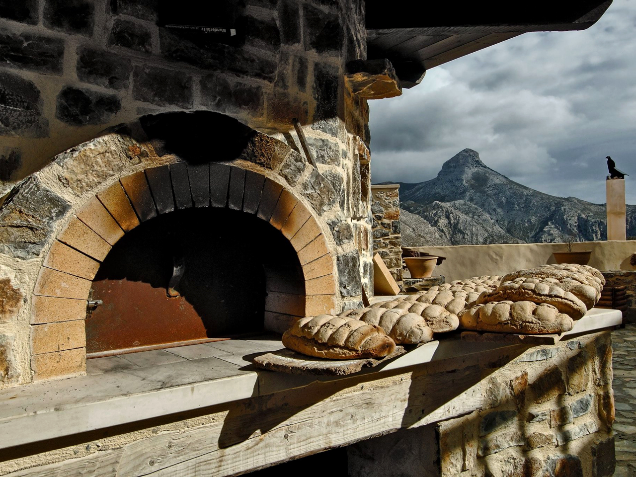 Fresh Delicious Bread - Thalori Retreat