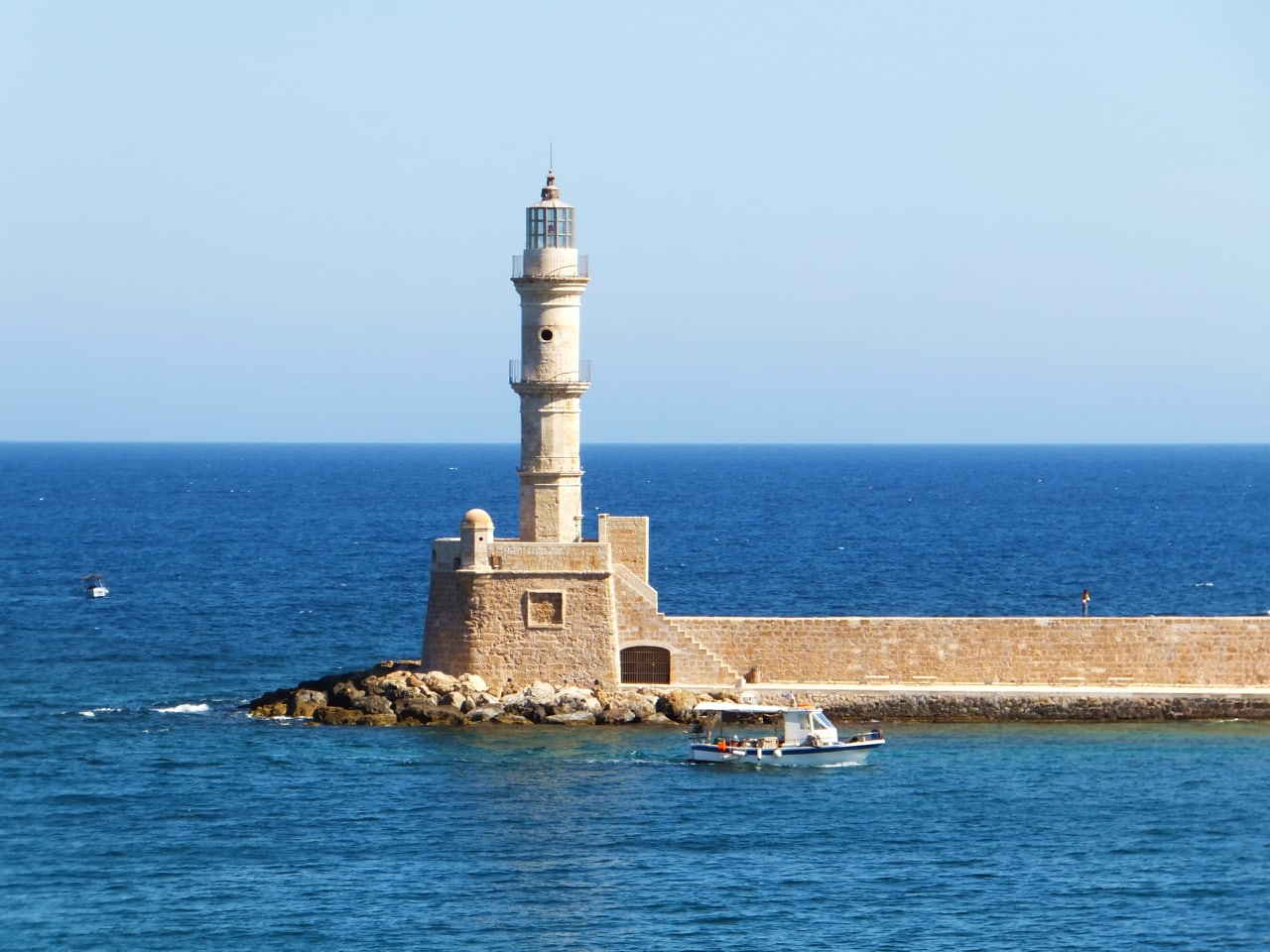 Chania Town - History of Venetian Lighthouse