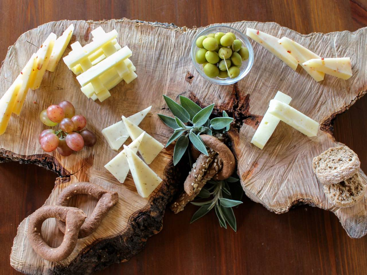 Cretan Breakfast In Nature?