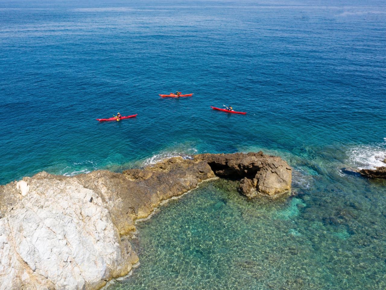 Activity of Day :  Sea Kayak Day Trip - Sfakia & Loutro Village