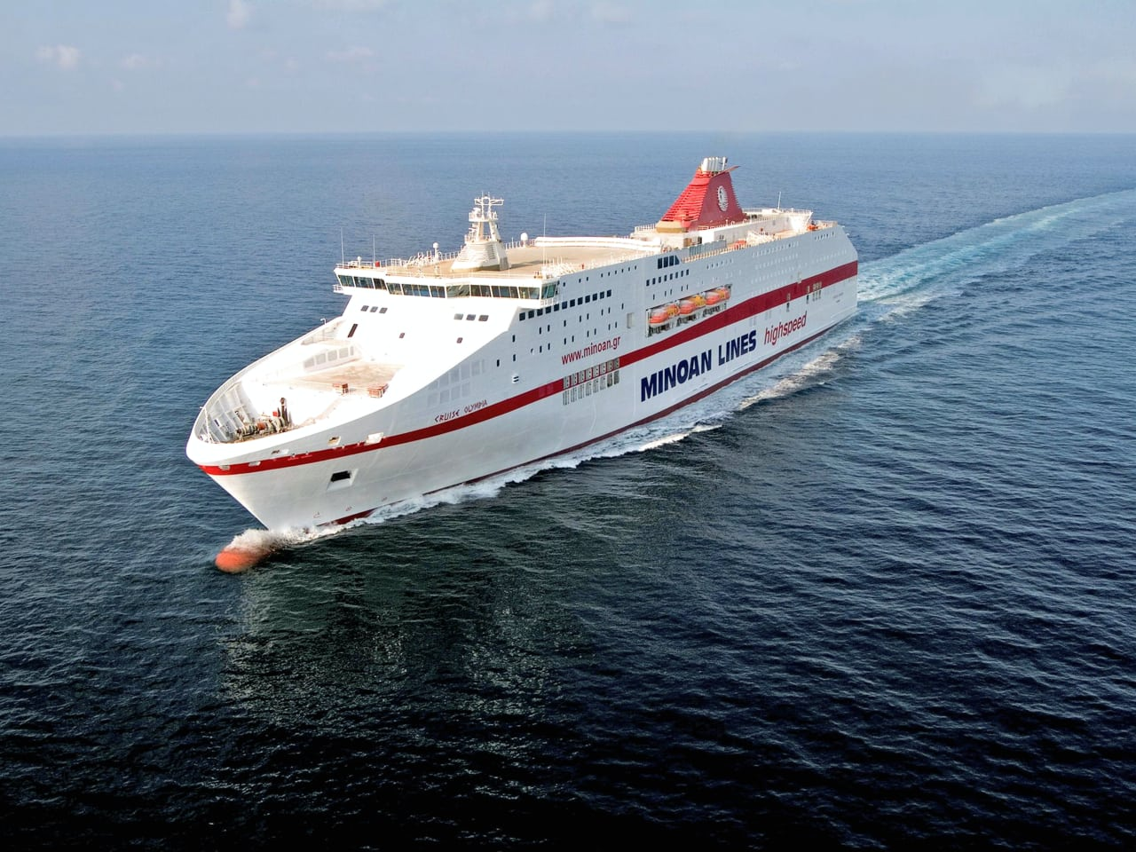 Minoan Lines' Mykonos Palace Ferry Becomes Eco-friendly