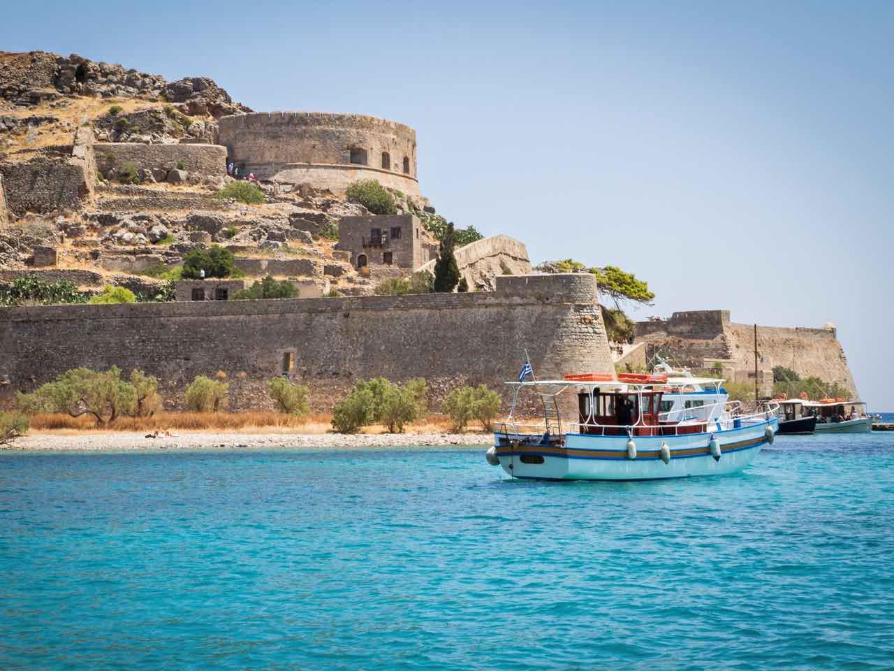 Spinalonga Island - Elounda Village Crete