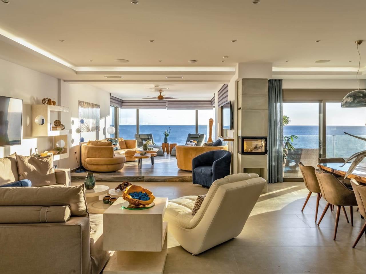 Best Villa In East Crete - Moonlight Villas Koutsouras