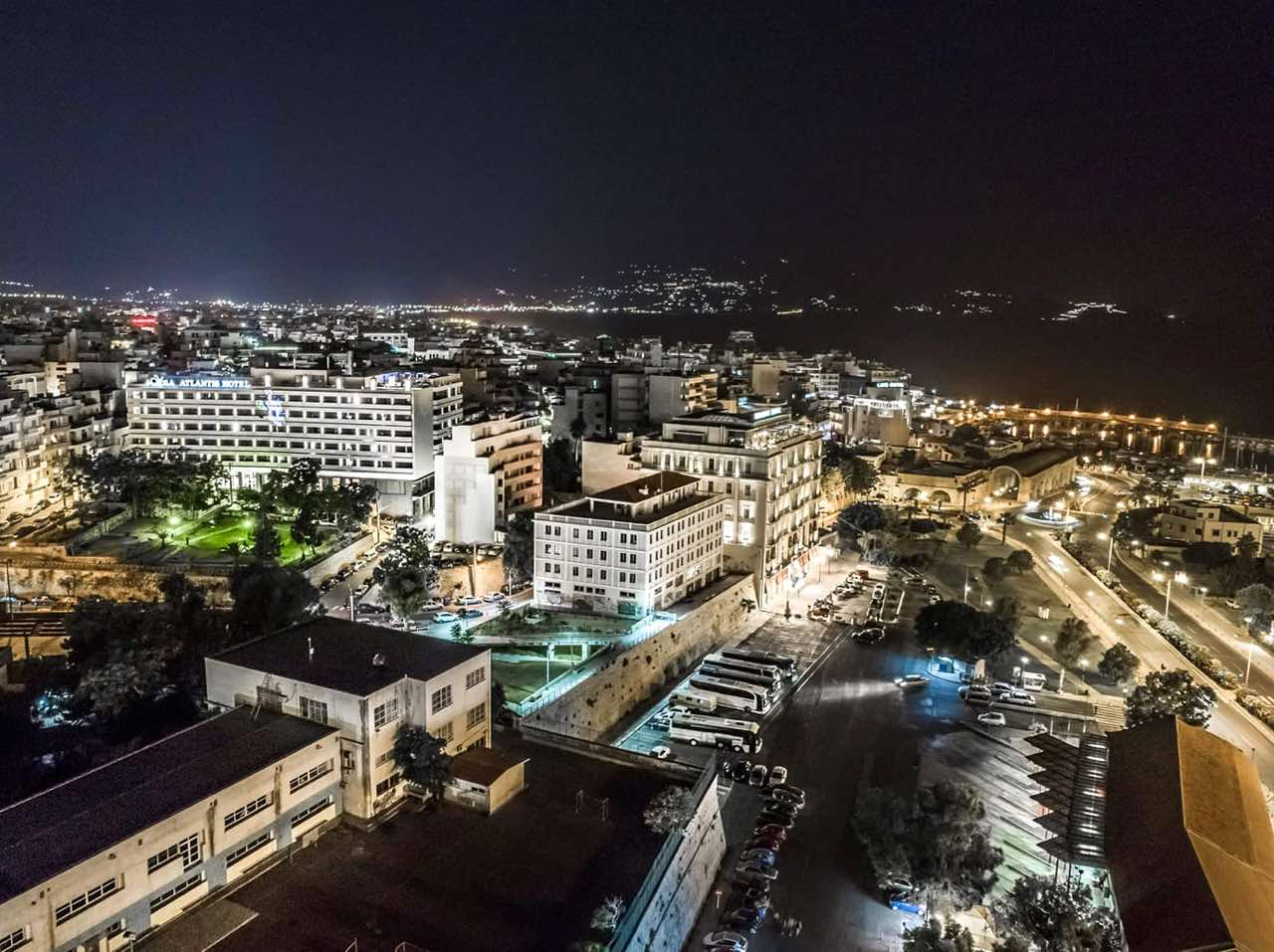 Photo of Day - Heraklion Town by Night