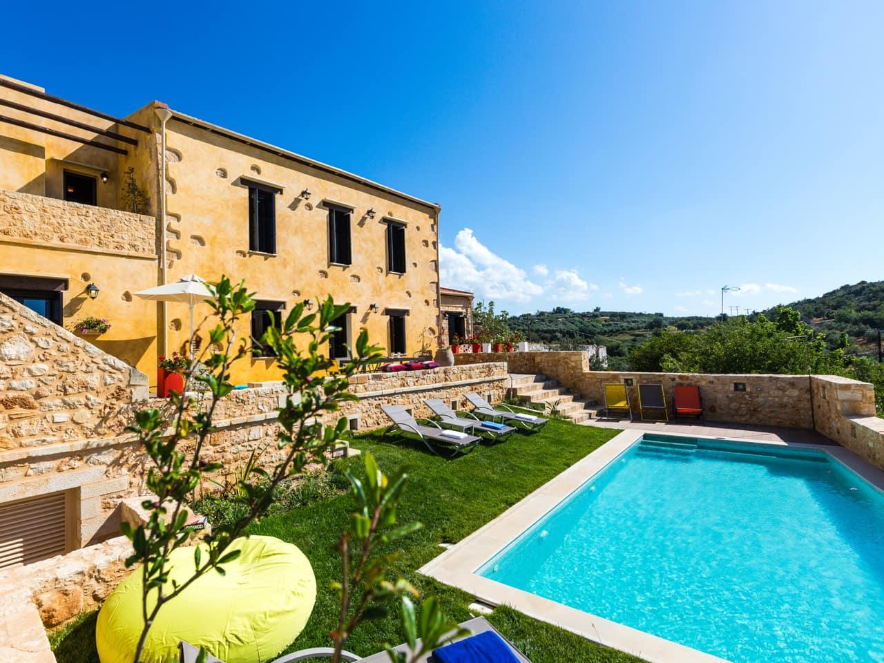 Immerse Yourself In The Cretan Countryside At Erondas Cretan Villas