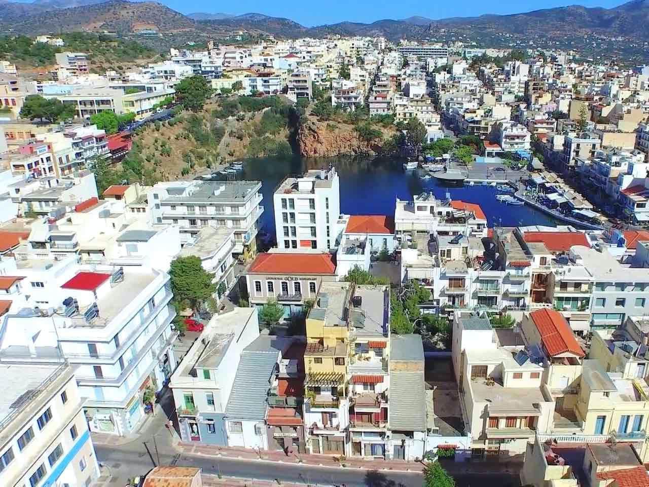 Kalimera From Sunny Lovely Agios Nikolaos Crete