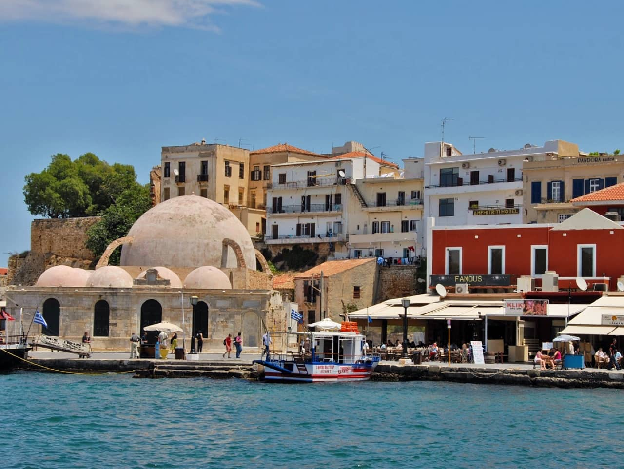 Cars Will Be Banned At Old Venetian Port of Chania in Crete