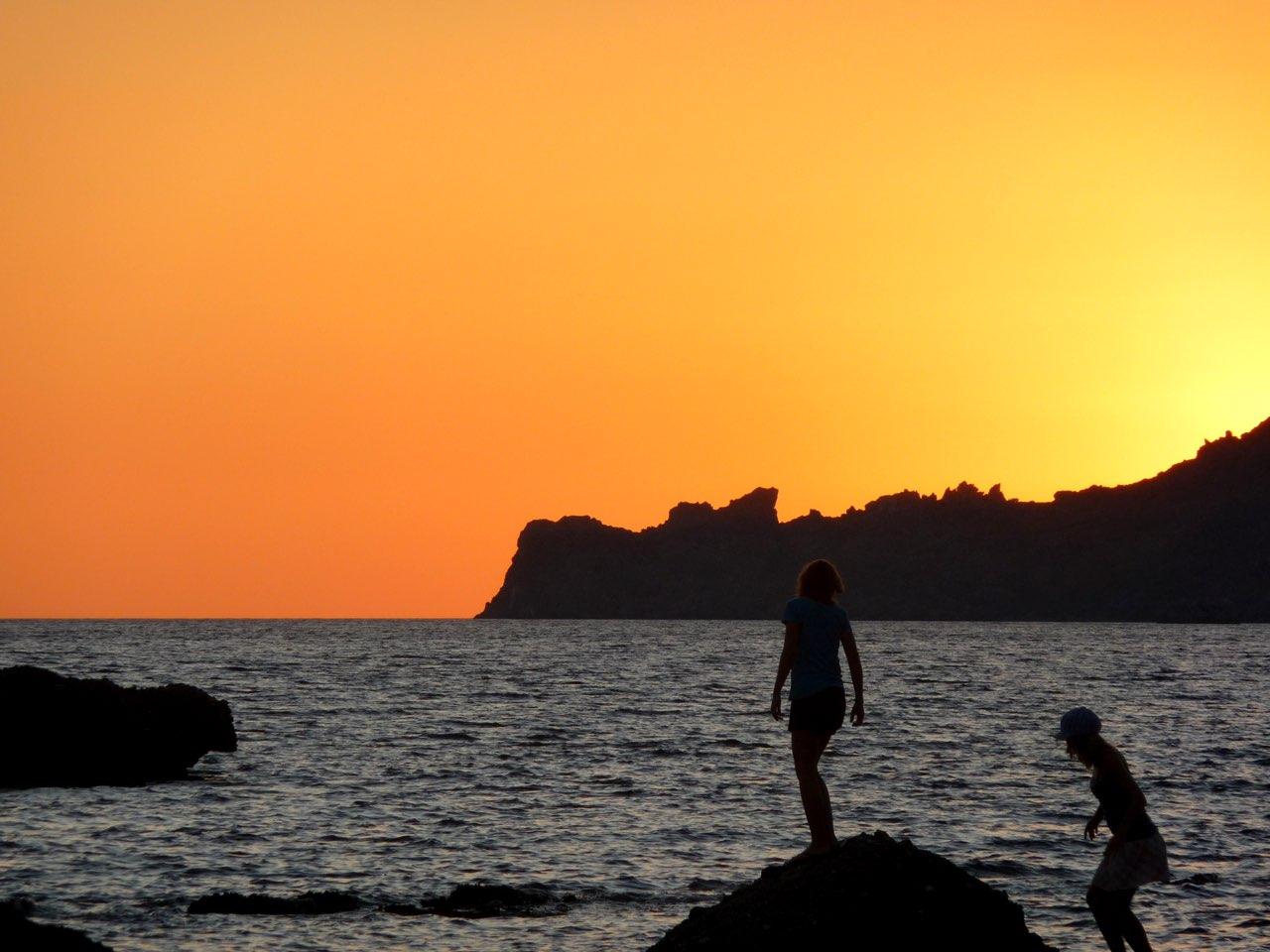 Magical Sunsets At Plakias Village, South Rethimno, Crete!
