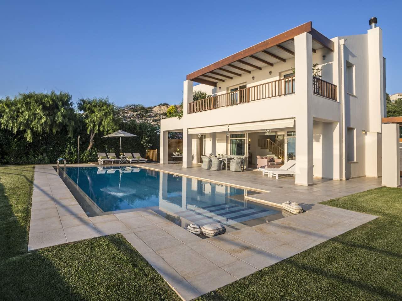 Villa Ammos of SkPlace Villas at Almirida Village