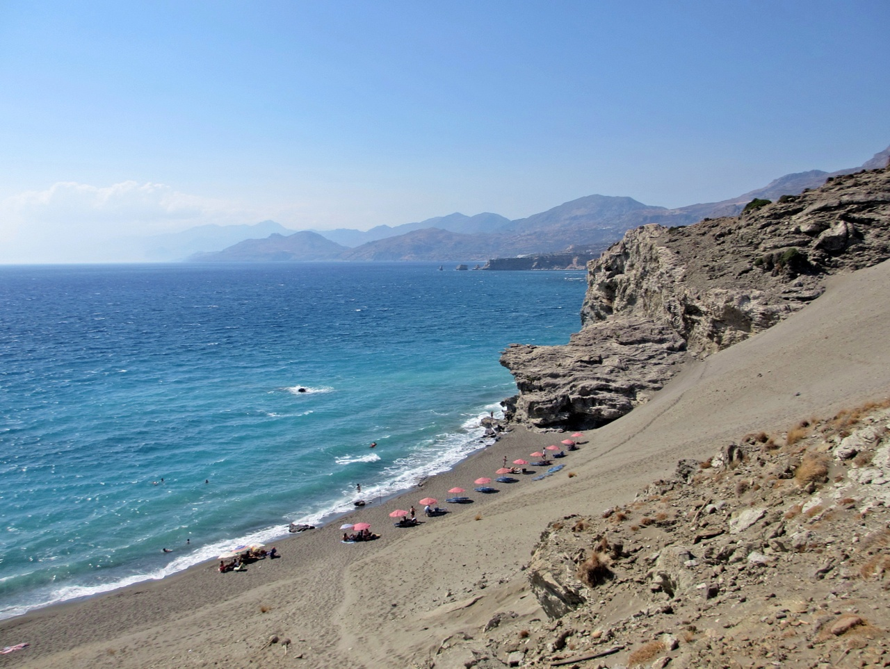 Photo of Day : Agios Pavlos Beach in South Rethimno - Crete