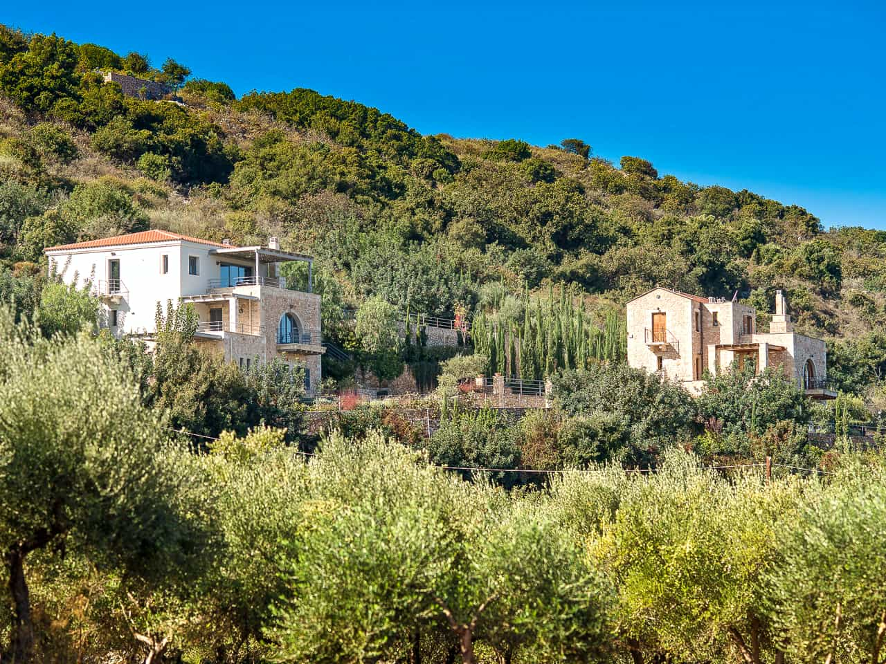 Photo of the Day : Bleverde Villas in Gavalochori - Chania