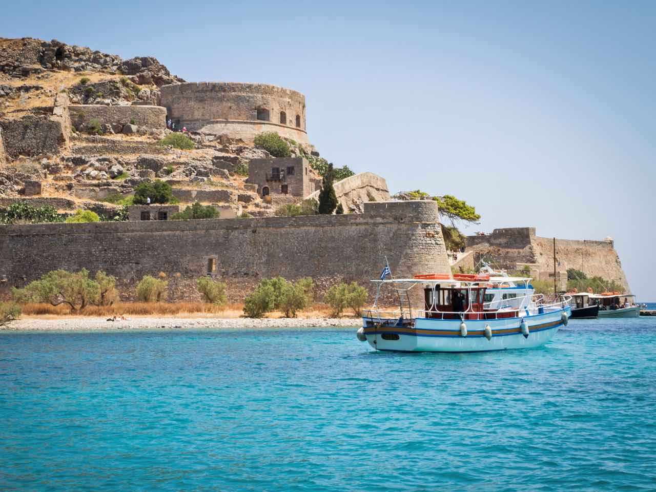 Visiting the Island of Spinalonga in Crete