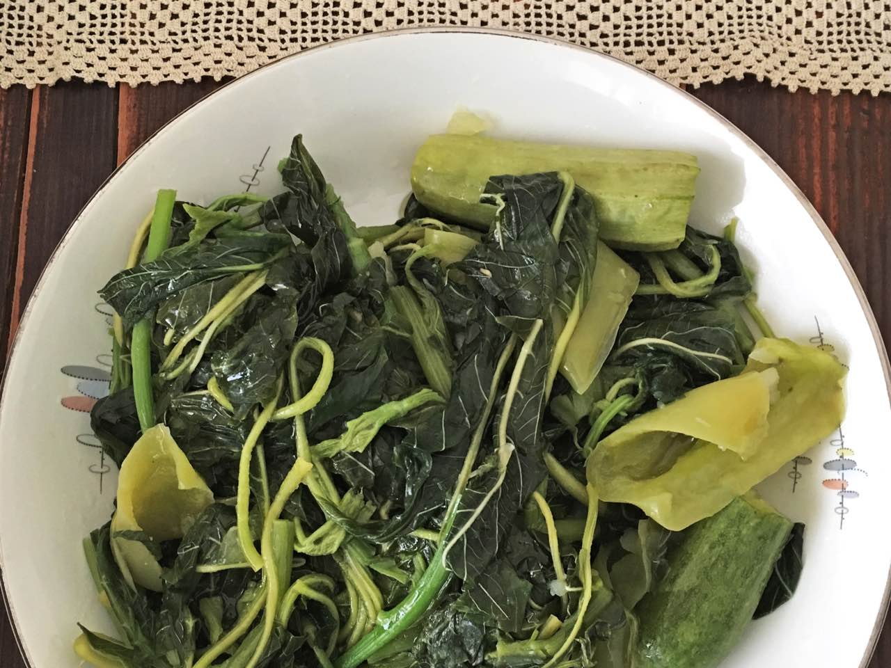 The Nature Of Horta, Or Greek Greens