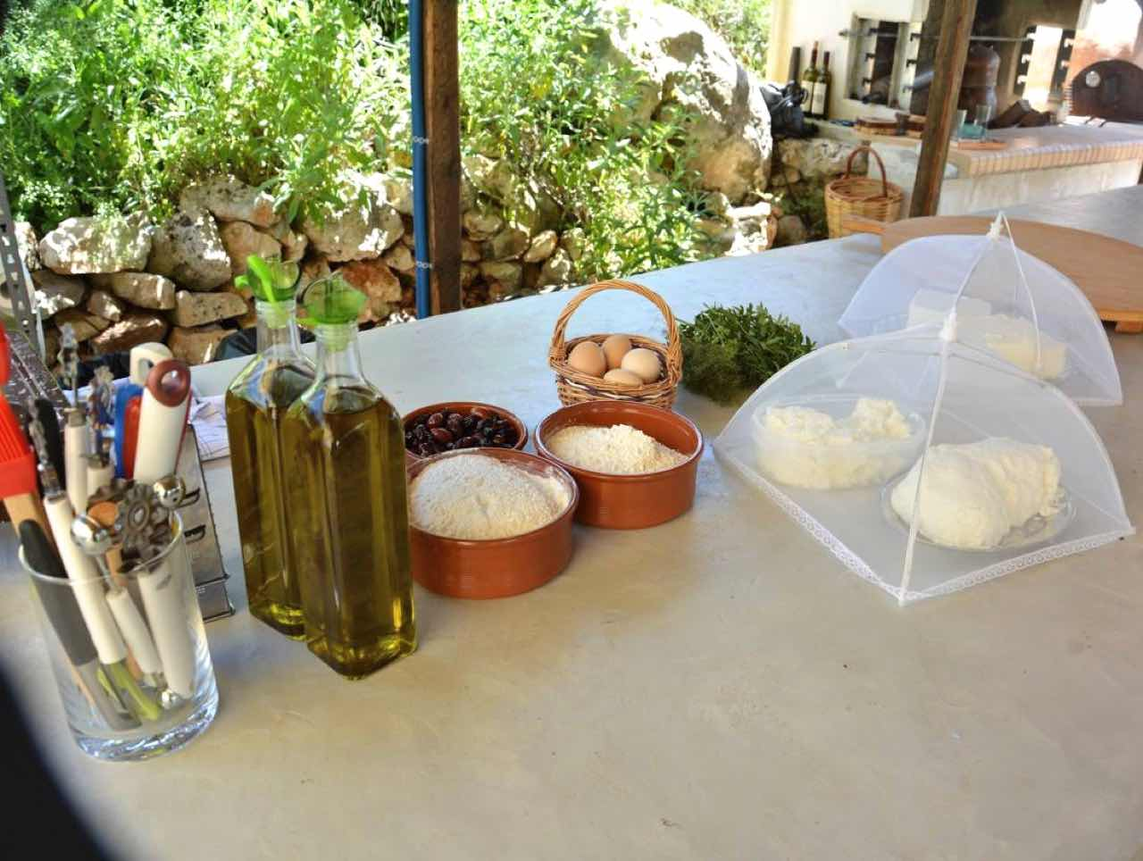 Traditional Cooking Workshop & Slow Food At Cretan Olive Farm