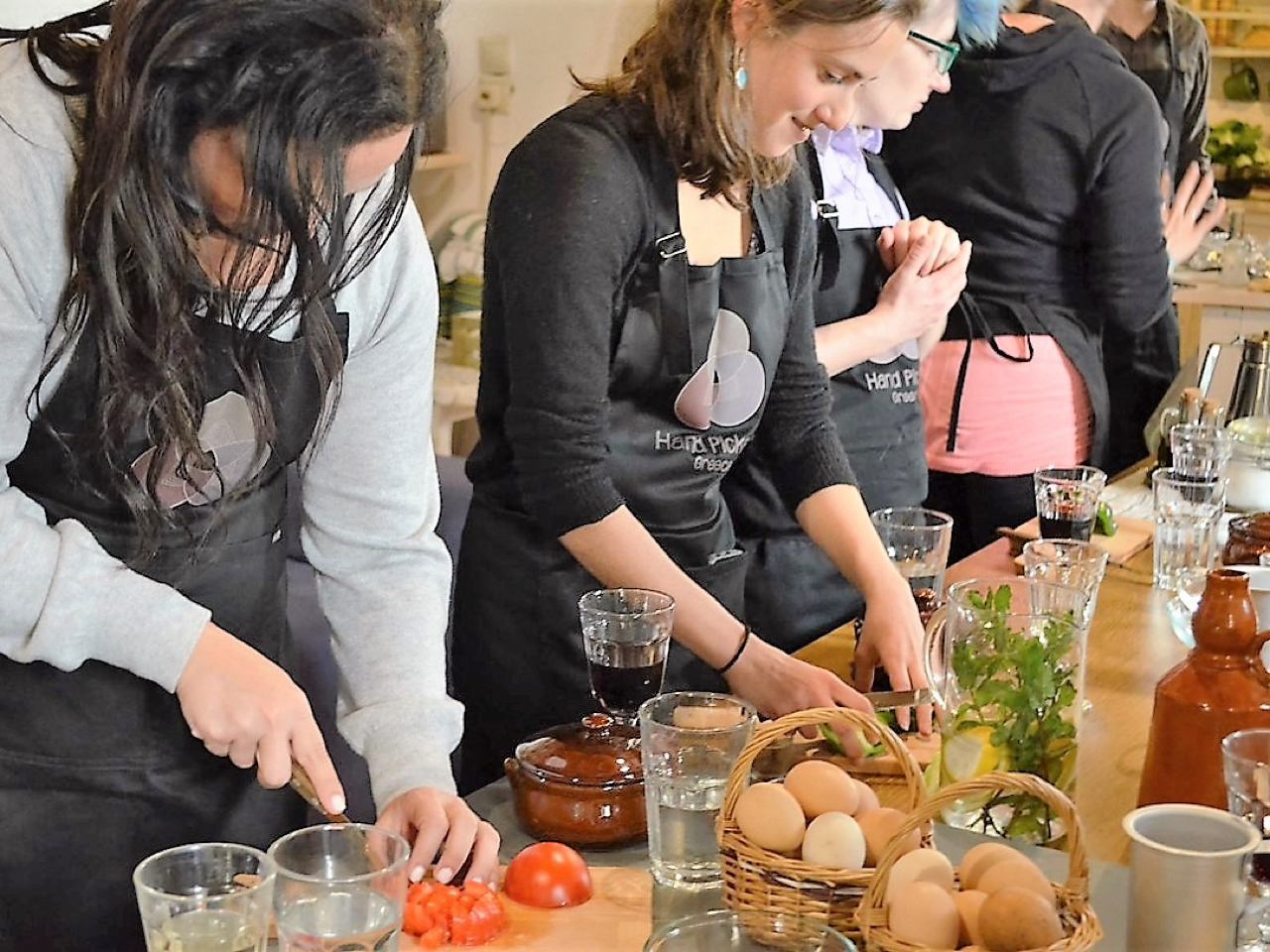 Great News - One Day Gastronomy Course Include Local Market Of Chania Visit & Cooking Course