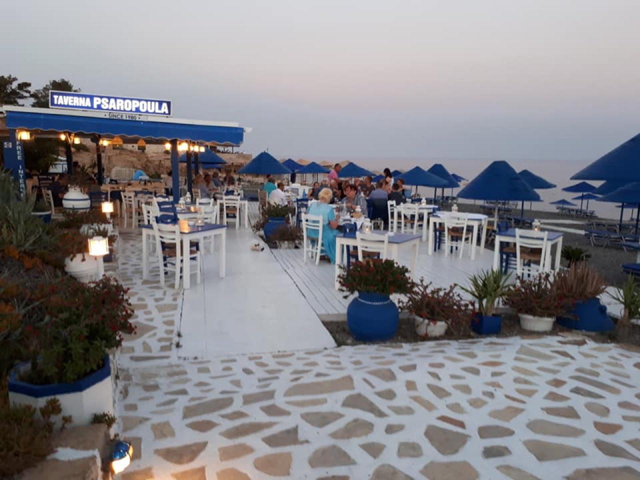 Taverna Psaropoula Is Our New Find - Koutsounari Beach Lasithi Crete