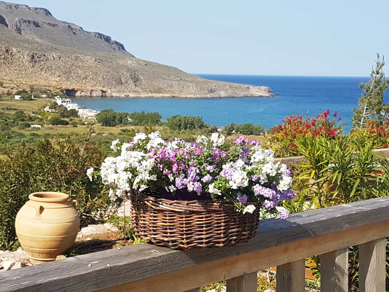 Crete In October, Terra Minoika Villas at Kato Zakros