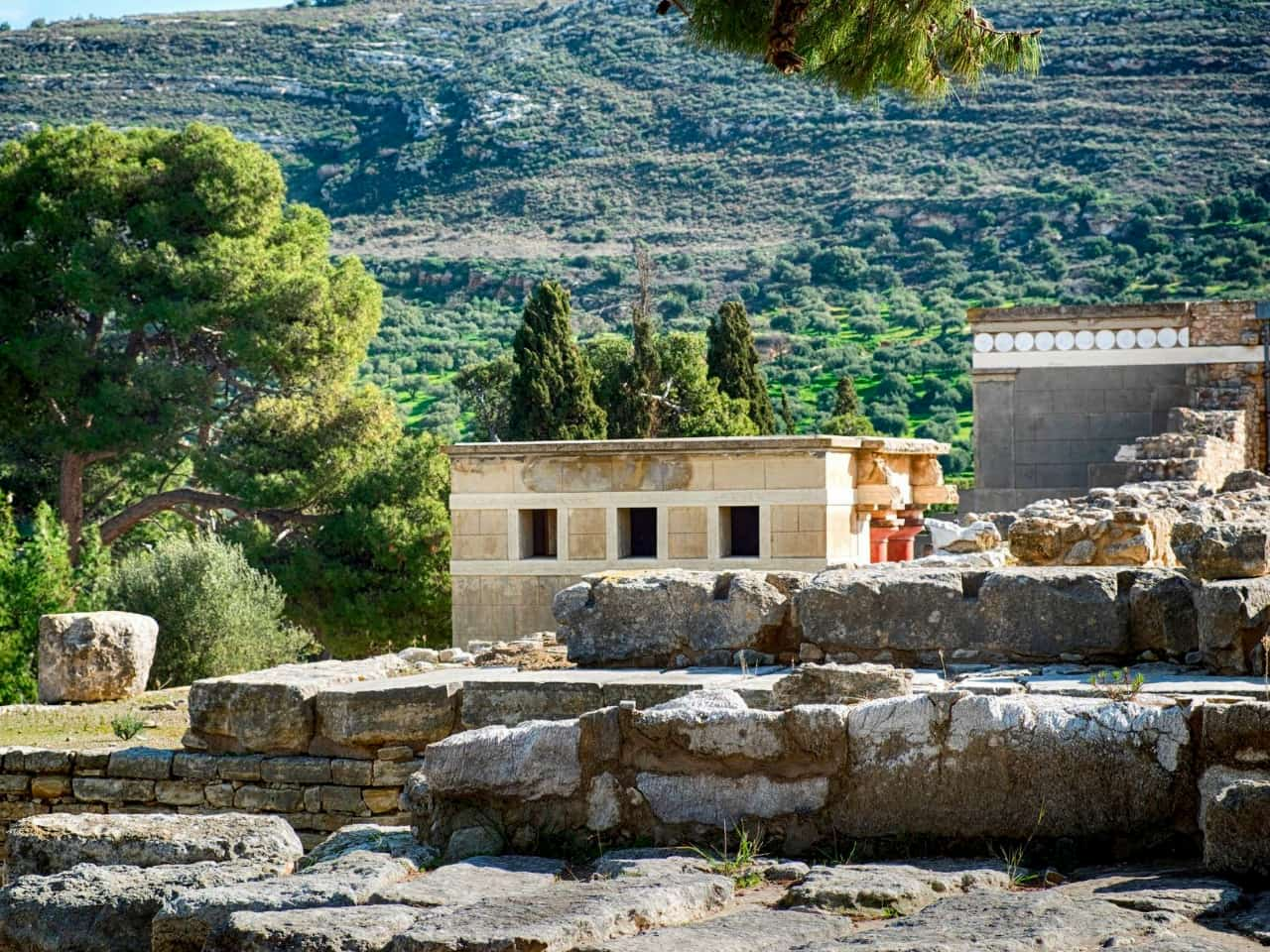 Good News About Knossos Minoan Palace