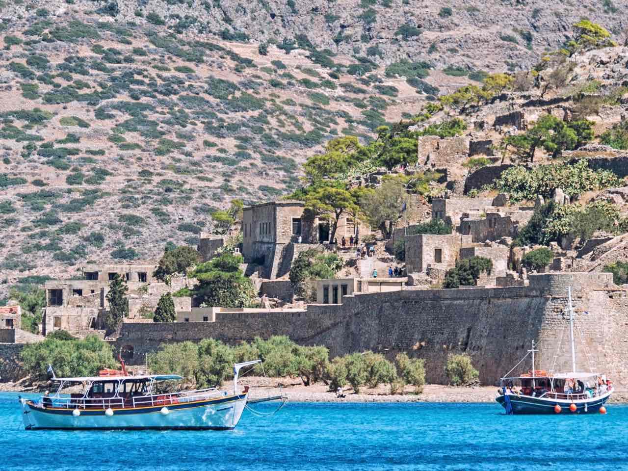 Crete and Spinalonga Island