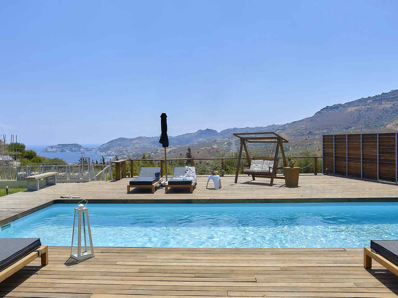 Hurry up Casa Blue Villa - Agia Pelagia Available August & September