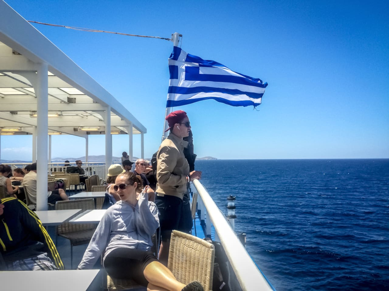 Covid-19 Checks Continue on Board Greek Ferries