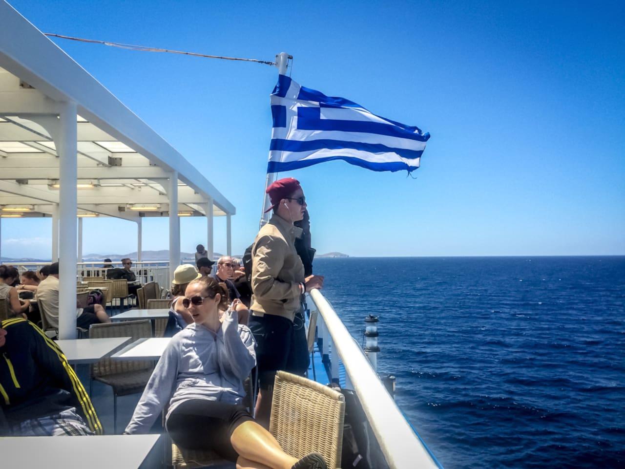 Covid-19 Checks Continue on Board Greek Ferries
