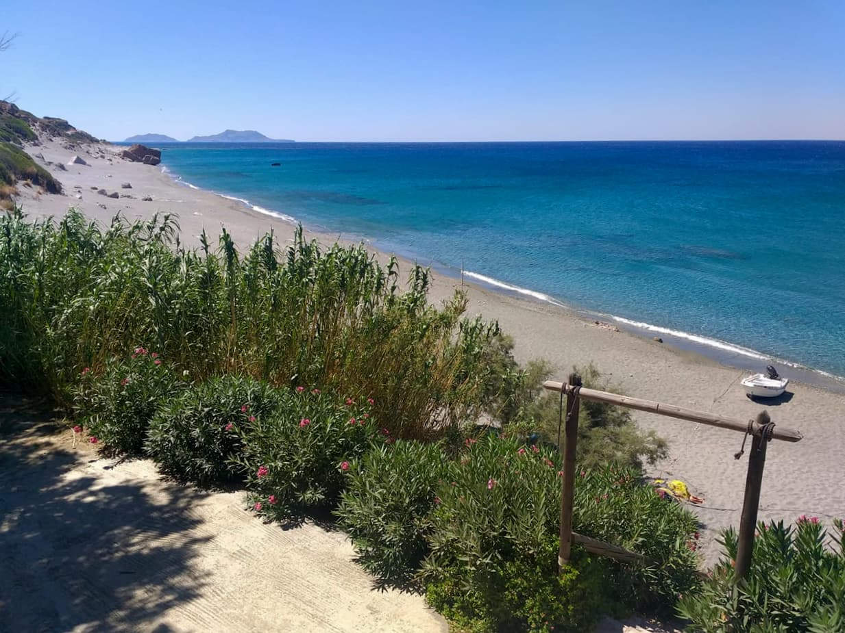 Lovely Weather In Crete Ligres Beach - South Rethimno