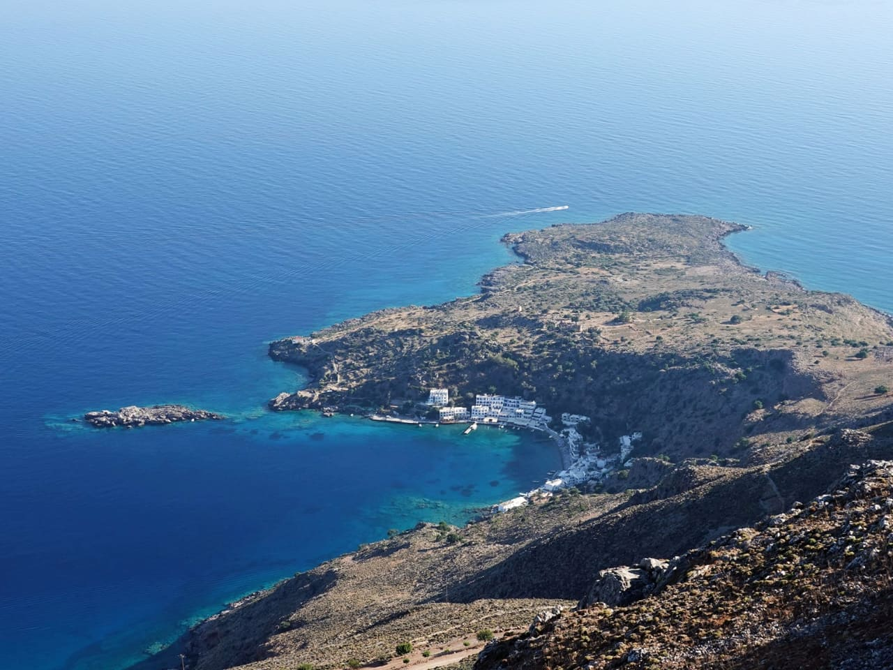 Photo of Day : Loutro Village in South Chania Crete