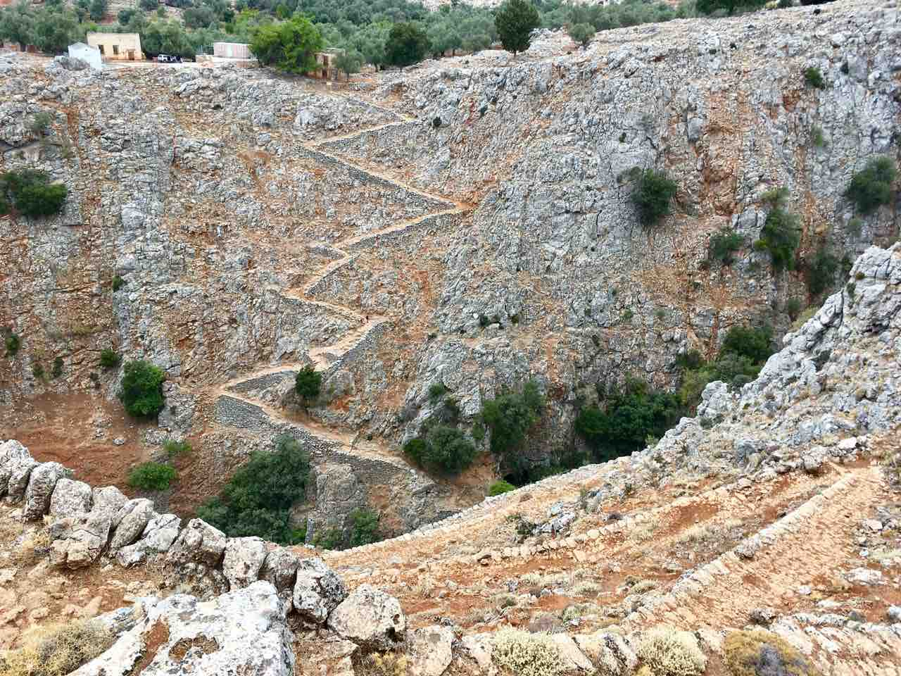 Hiking Route from Aradena to Agios Ioannis