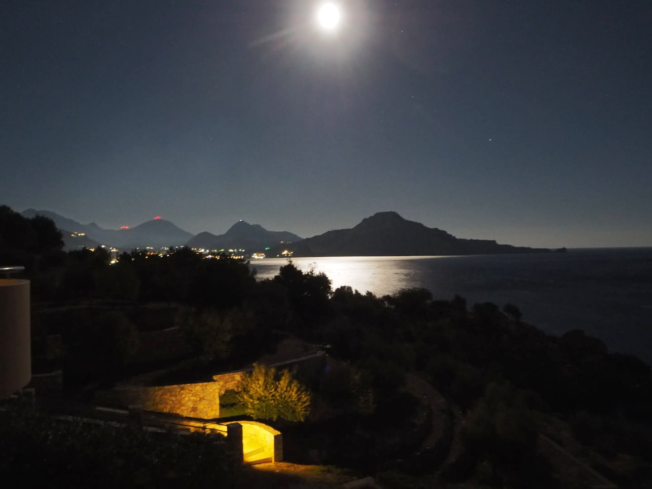 Full moon over Plakias - South Rethimno - Crete