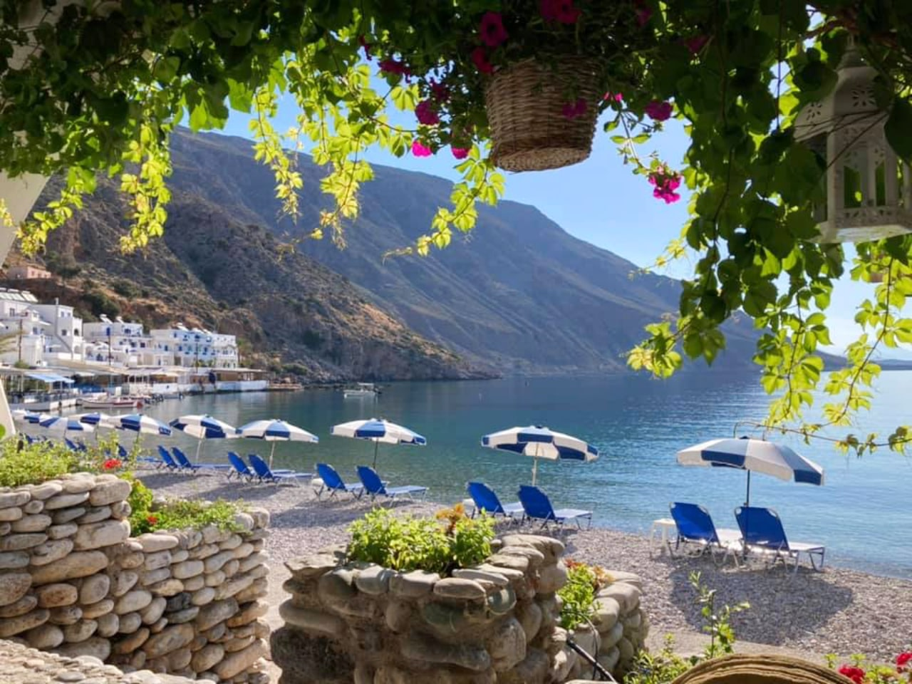 Kalimera from lovely Loutro Village - South Chania