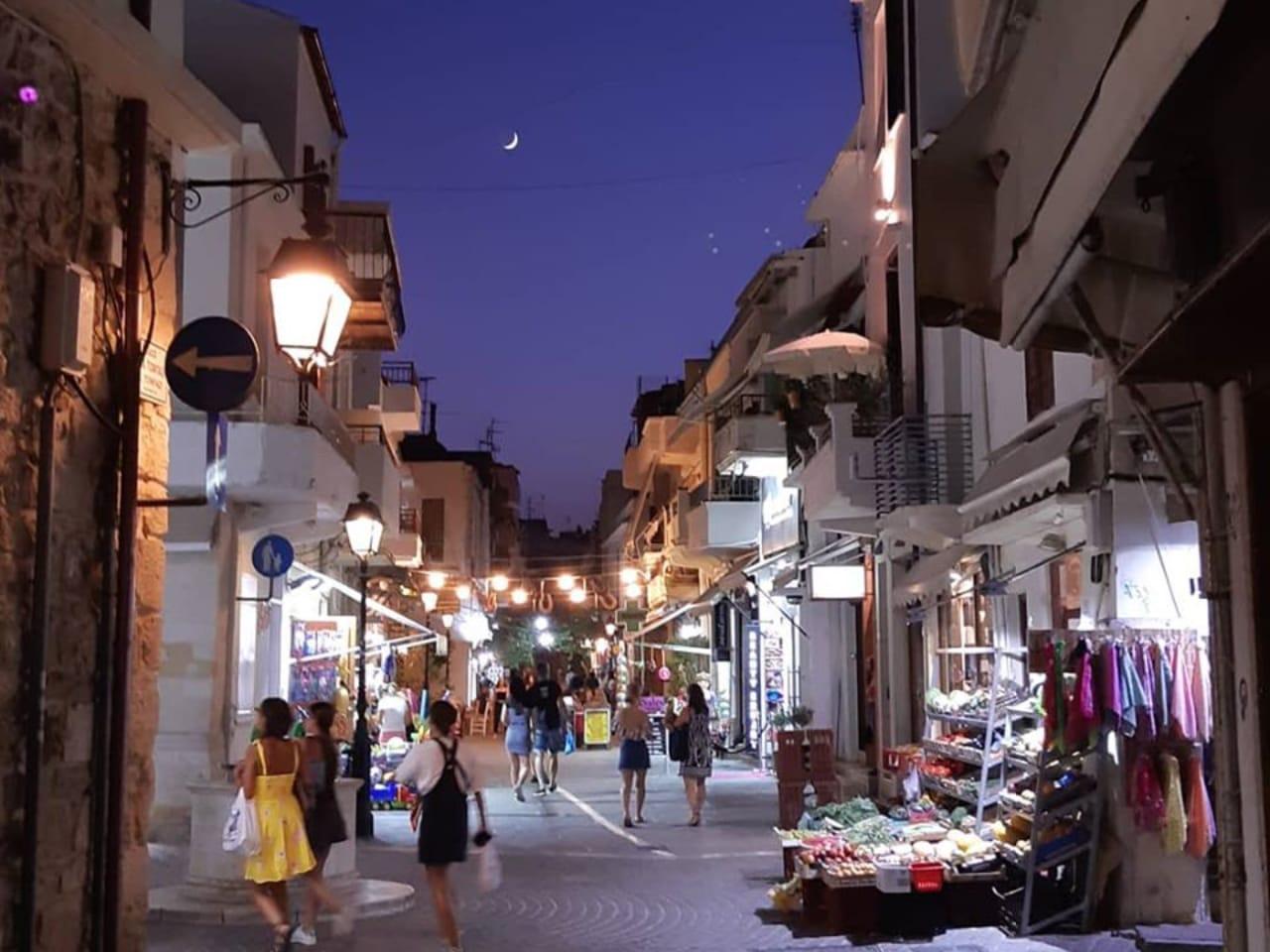 rethimno town crete