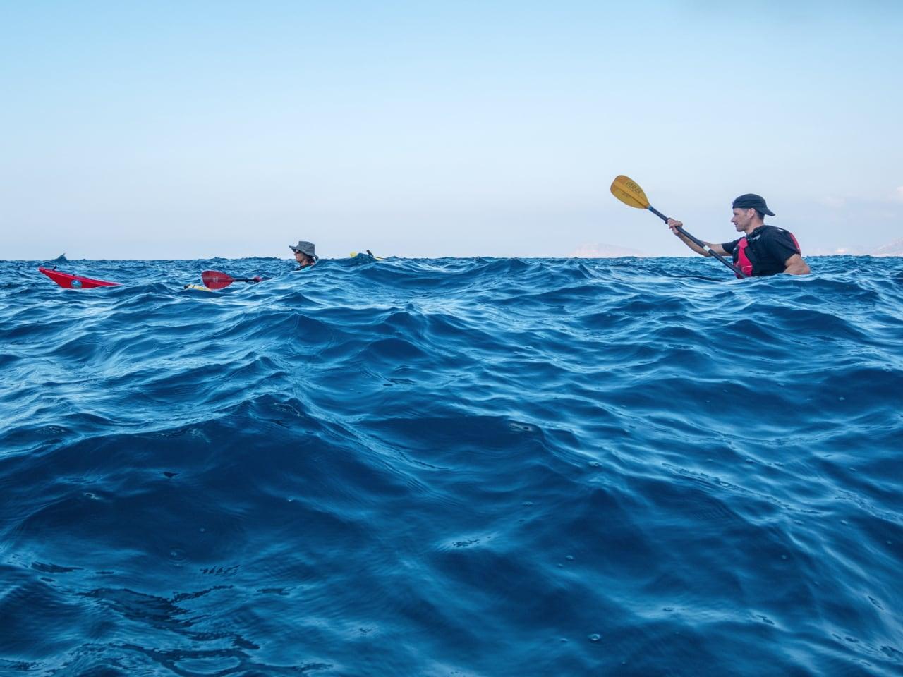Sea Kayaking - Level 2 Sea Kayak Course, Level 2 Sea Kayak Course crete, Sea Kayaking best course crete, sea kayak lesson nearby heraklion