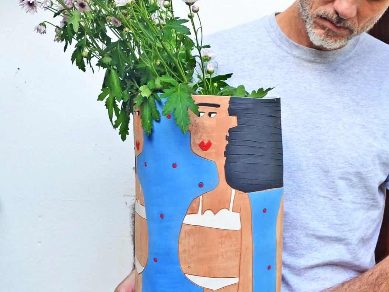 Ceramic Workshops Pottery Village Margarites Rethimno Crete, Individual Short Hand Building, Wheel Throwing Session margarites, Children Program - PlayCLAY, Pottery Lab, Wheel Throwing Course, Basic Decorating Techniques ceramic, activities rethimno rethymno