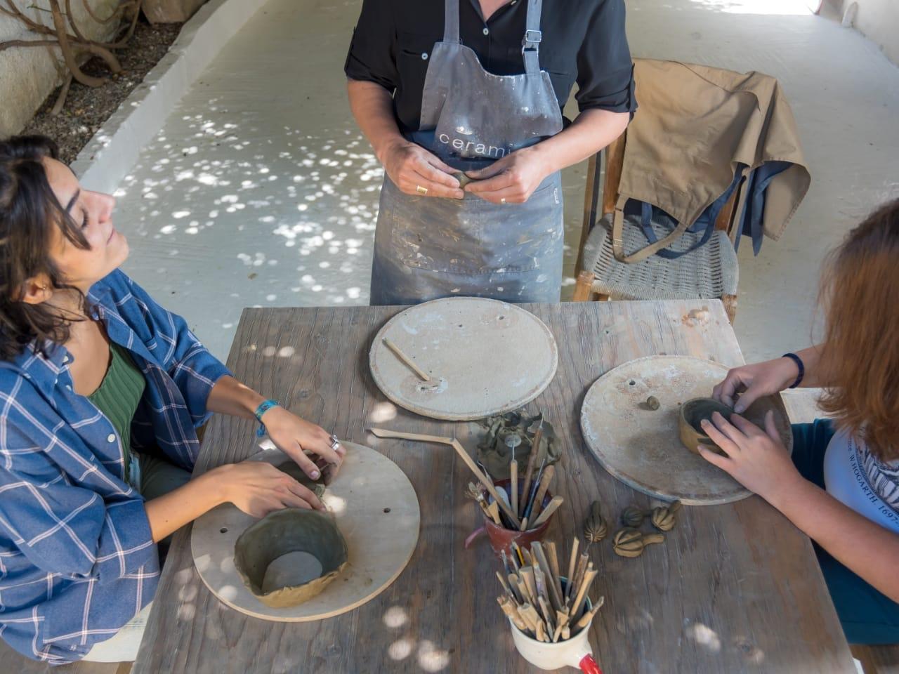 Five-day Ceramic Workshop Margarites Village Crete, best ceramic workshop rethymno crete, ceramic workshop rethimno crete, activities rethimno crete, art creativity workshop crete, things to do crete, best ceramic studio rethimno crete, ea ceramic workshops