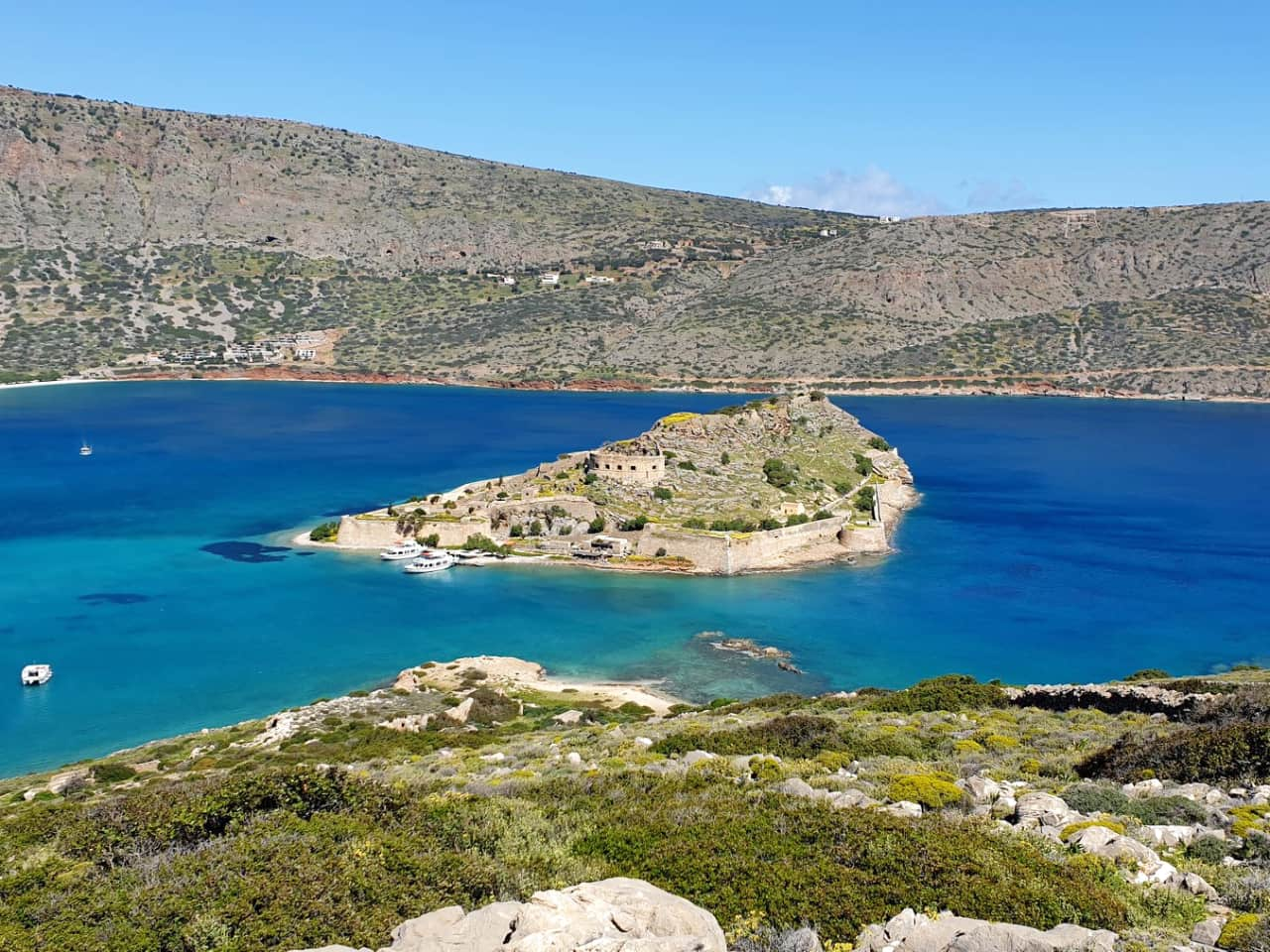 Afternoon Yacht Cruise to Kolokitha Island Enjoying The Sunset, boat trips elounda village, best speedboat tirps spinalonga elounda, best activities elounda village, spinaloga sunset boat trip, kolokitha elounda boat trip lunch, best boat trip elounda village