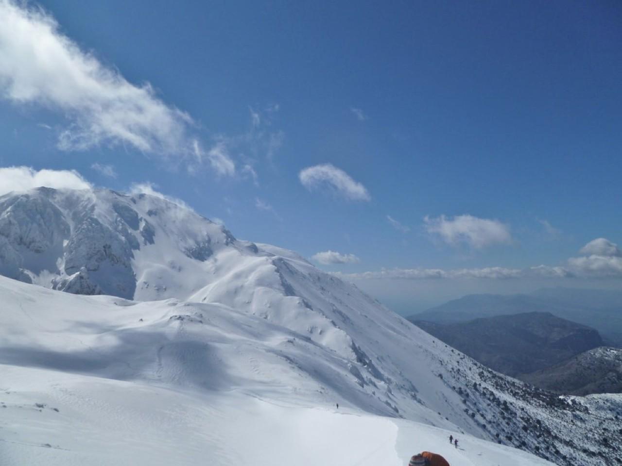 Winter in Dikti Mountains