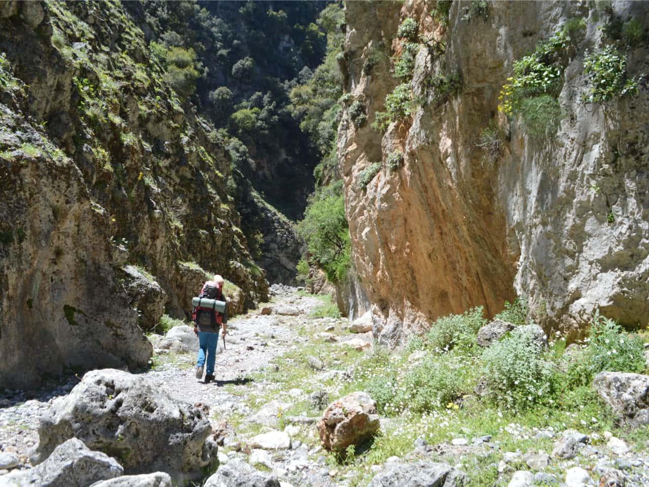 Multi-Day Hiking Tour Southwest Crete, Multi-Day Hiking Tour chania crete, trekking hikng south chania, hiking tour loutro village, paleochora village, imbros gorge, glyka nera, lissos sougia, st irene gorge, livaniana aradena anopolis villages, marmara agia roumeli