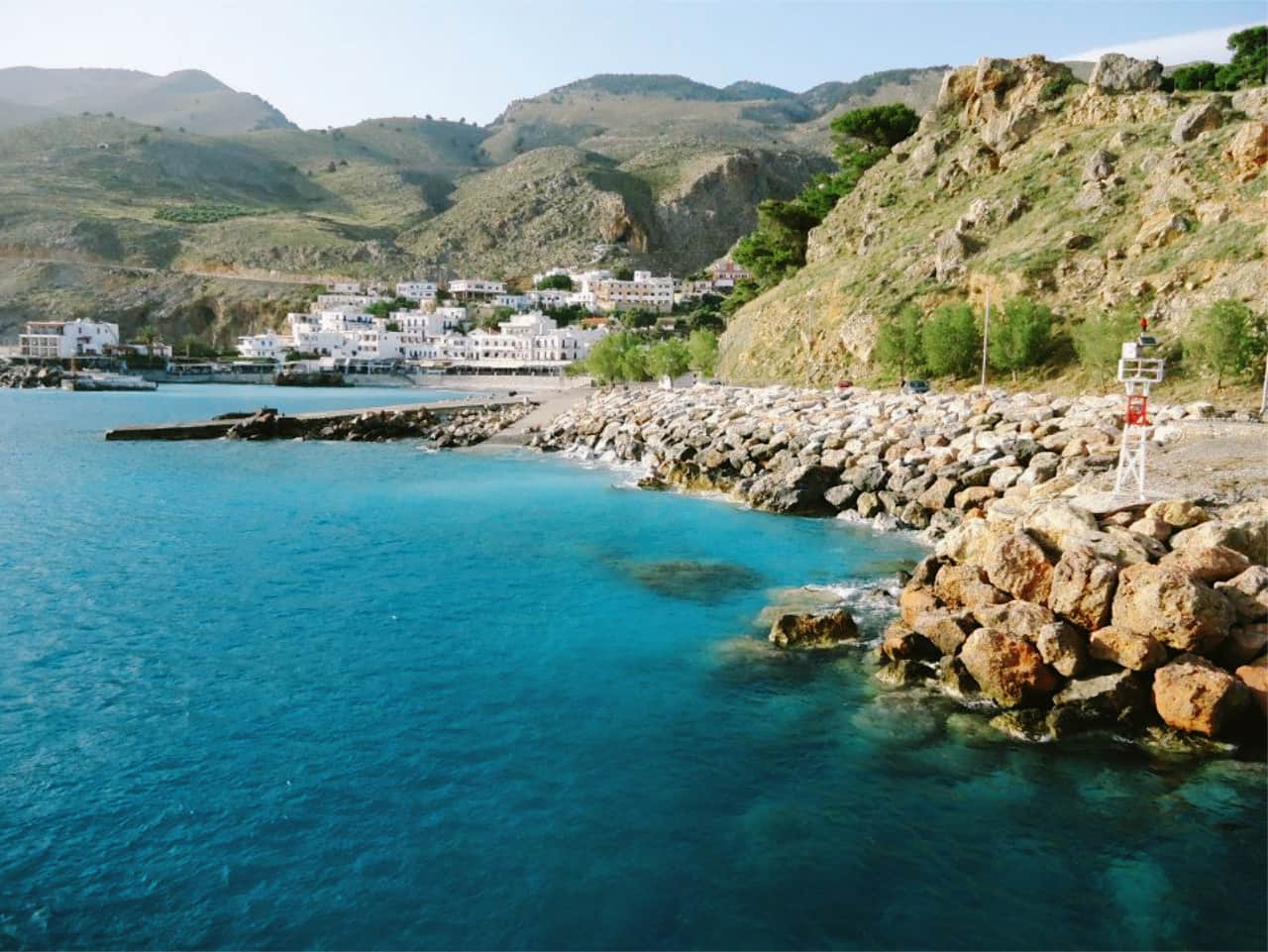 Full Day Boat Trip To Elafonissi, boat trip lissos sougia, boat trip loutro village, boat trip paleochora crete, best boat trips south crete, boat trip to kedrodasos elafonisi, boat trip south chania crete, best boat trip activities sfakia crete, sfakia activities