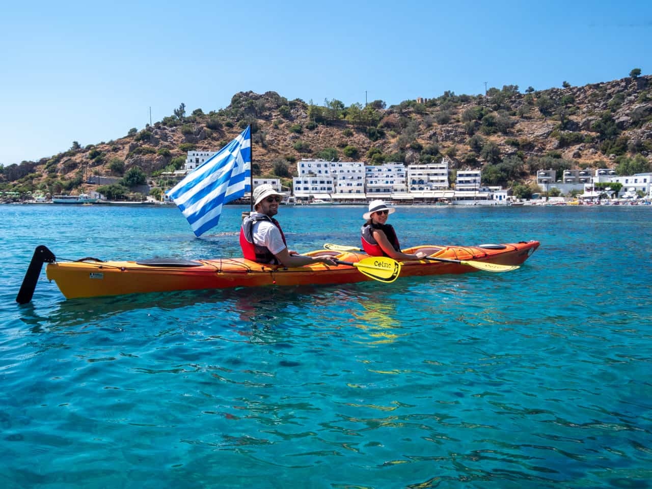 loutro village sea kayak, multi day sea kayak expedition south chania crete, sea kayak tour chania, sea kayak trip south chania, best sea kayak expedition greece