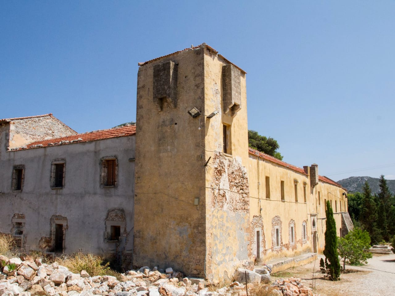The significant Gouvernetou Monastery