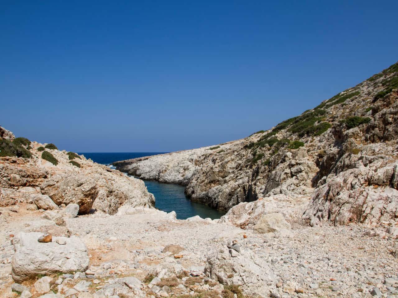 Katholiko Beach  chania Crete
