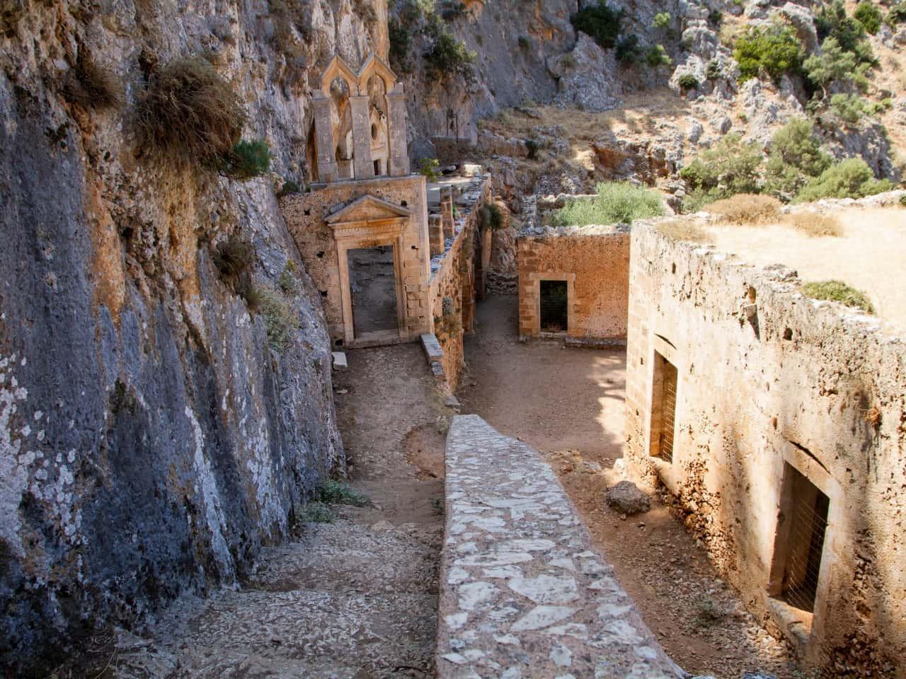 The deserted Katholiko Monastery