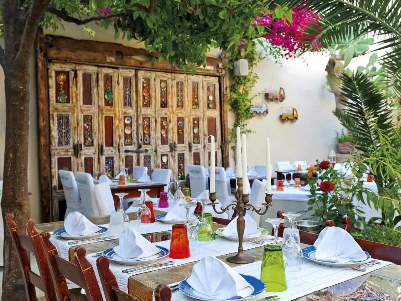 avli restaurant rethimno, avli restaurant rethymno crete, rethimno where to eat, gastronomy rethimno crete, best restaurant rethymno town