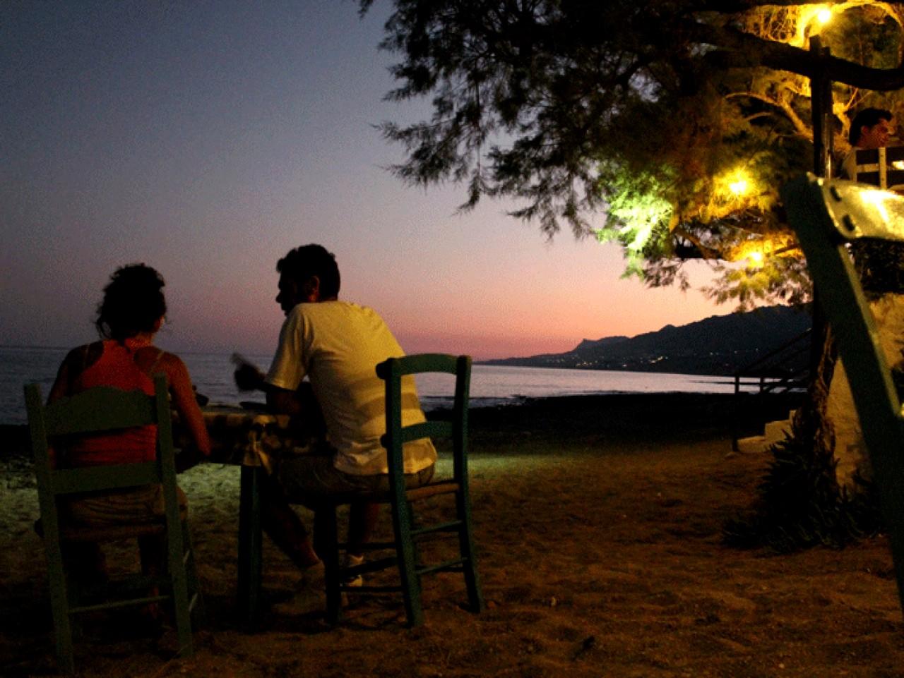 kaliotzina tavern koutsouras, kaliotzina restaurant koutsouras makrigialos, south east crete kaliotzina, where to eat lasithi, best restaurants east crete, gastronomy east crete