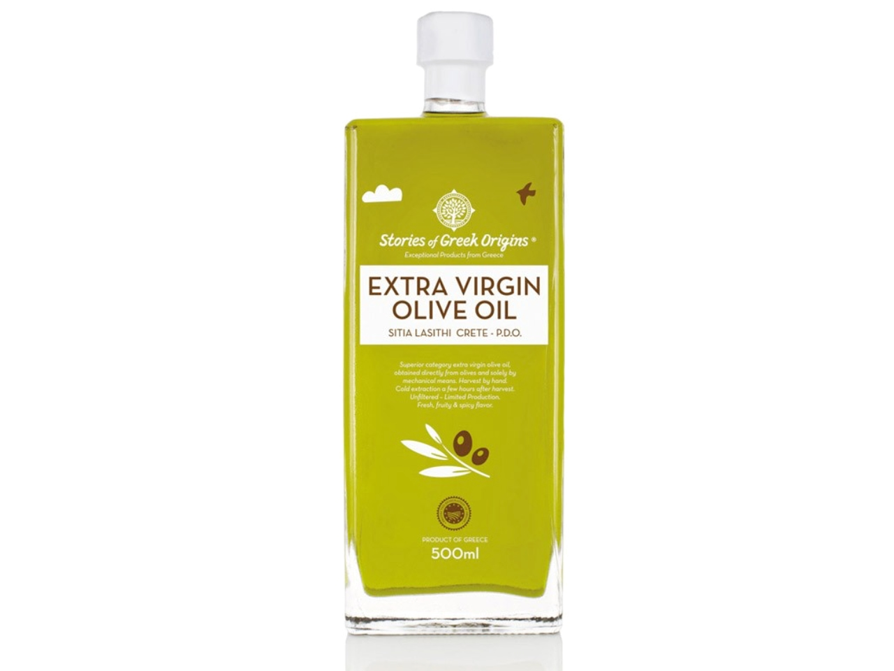 Extra virgin olive oil from Sitia