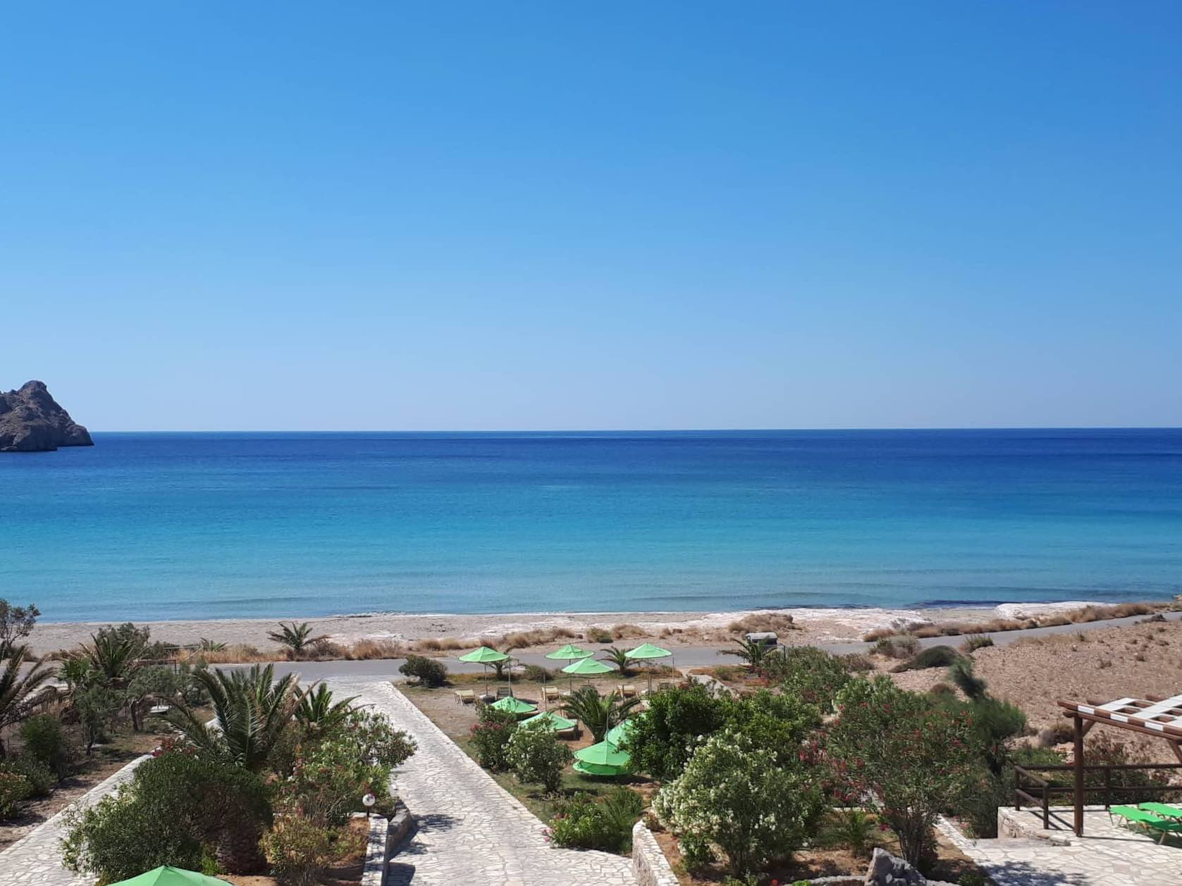 Stunning sea views from our Akti Rooms - Xerokambos