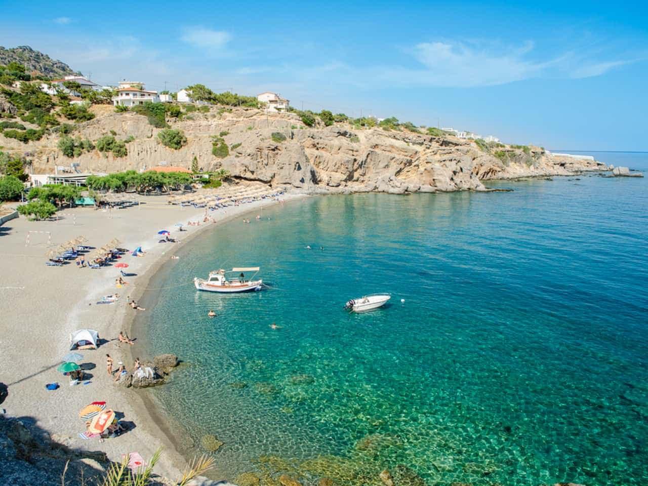 achlia beach ierapetra east crete