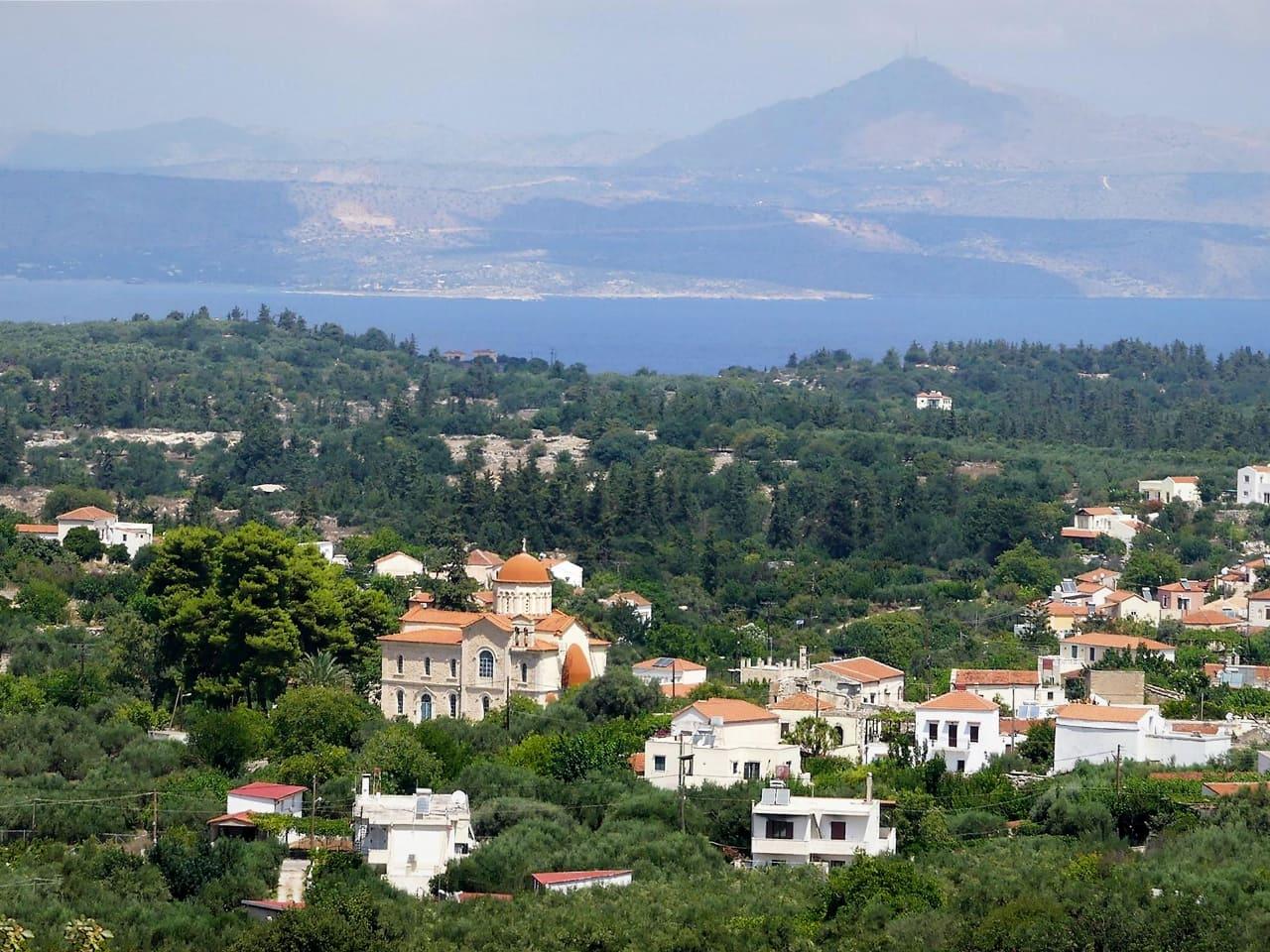 gavalochori village apokoronas region chania, historical village chania